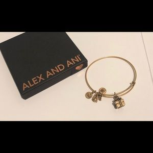 Alex and Ani Gold Bracelet